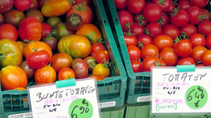 In der Kornblume gibt es die »Bunten Tomaten« von der Wolfenbütteler »Tomatenretterin« Beate Pieper.