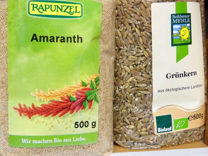 Über Grünkern und Amaranth wurde sich in den 80er Jahren noch amüsiert. Heute gehören diese Zutaten zur Gourmetküche dazu.