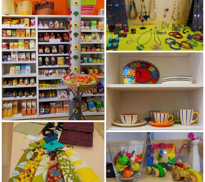 Kunsthandwerk und Lebensmittel im Weltladen Wolfenbüttel