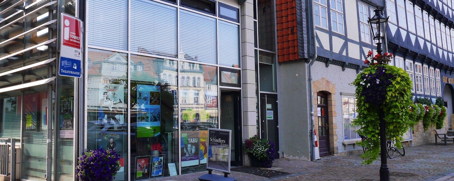 Tourist-Info in Wolfenbüttel Außenansicht