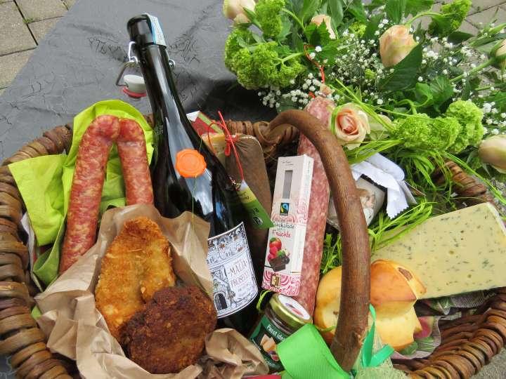 Leckere Naschereien zum Picknicken bekomme ich beim »Röber Gourmetmarkt«.
