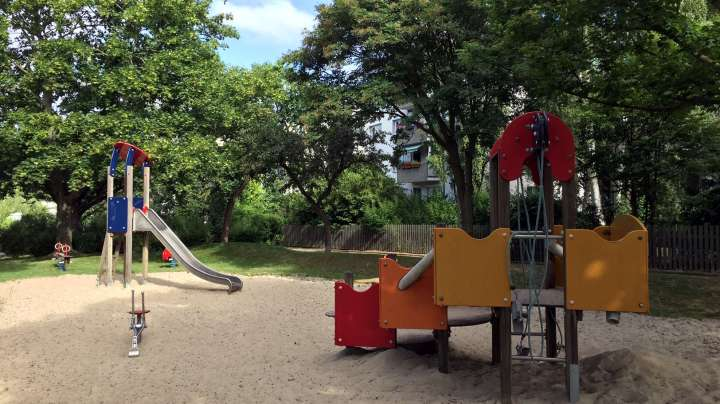 Auch an die Kleinen wird bei der Spielplatzplanung immer gedacht.