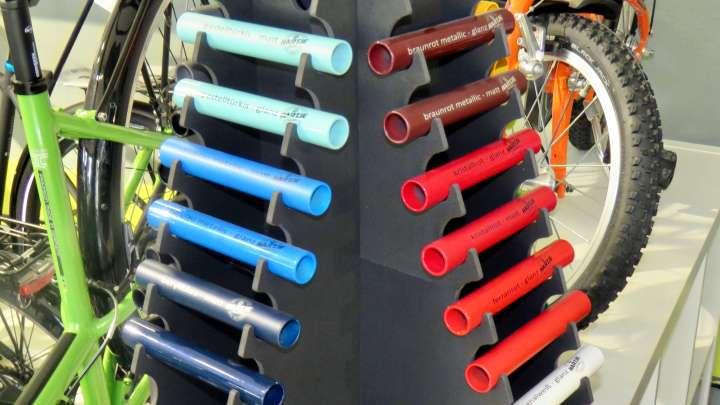 Fahrräder können auch ganz individuell zusammengestellt werden.