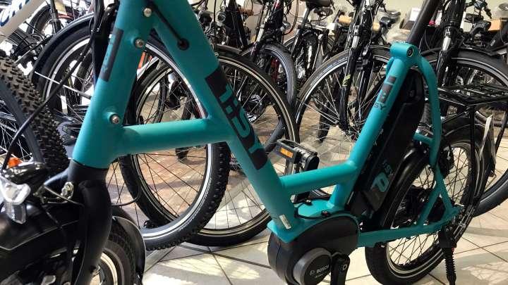 Es gibt auch zweckmäßige Fahrräder