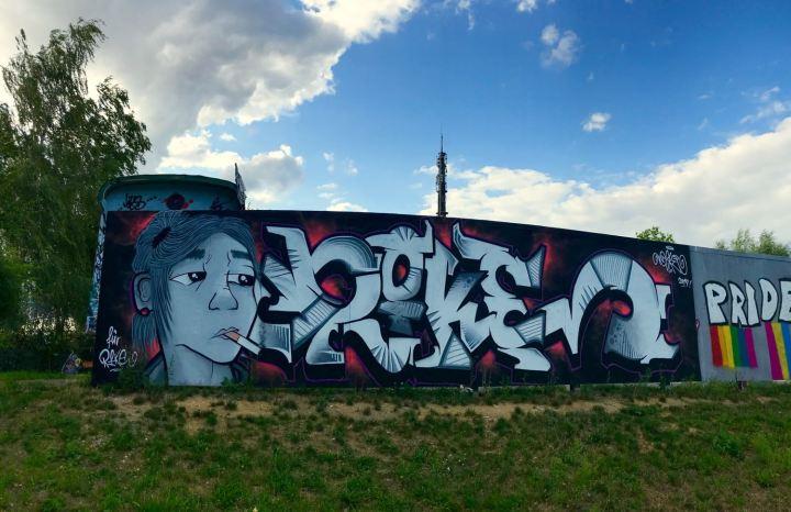Graffiti für Rike