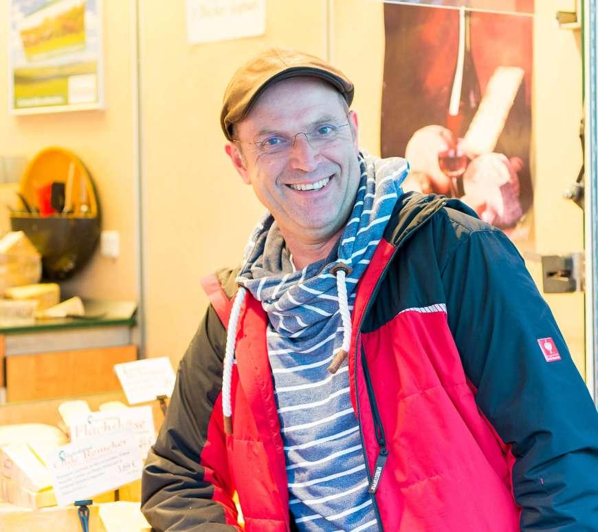 Peter van de Voort vom »Käseleckerland«,