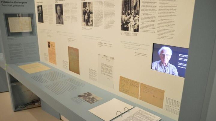 Ausstellung Polititsche Gefangene