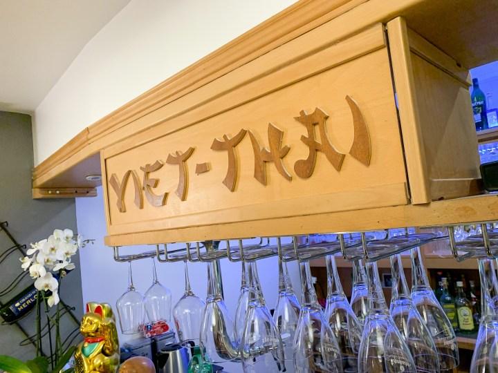 Die asiatische Bar.