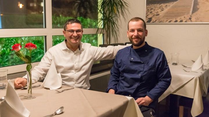 Angelo und Piero sorgen für das Wohl der Gäste im Piccolo. © Denver Künzer