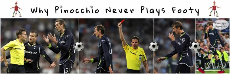 Pinocchio Football Peter Crouch Footy