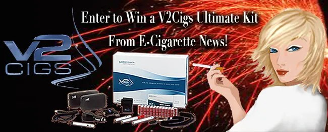 Win a V2Cigs Ultimate Kit from E-Cigarette News