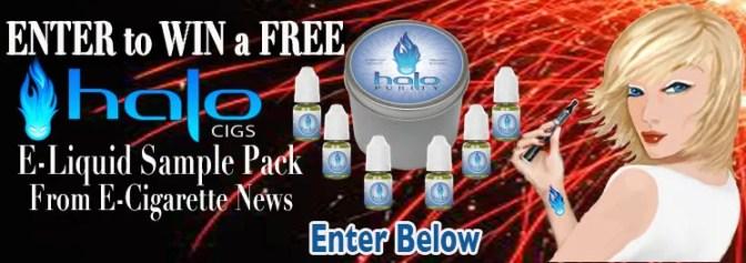 Win Halo Cigs E-Liquid Sample Pack from E-Cigarette News