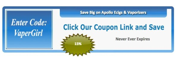 Apollo E-Cigarettes - One of the Best for a Wide Range of Quality ECigs, Vaporizers and Tanks