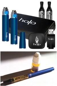 Halo cigs triton tank and G6 Vaporizer ecigarettes