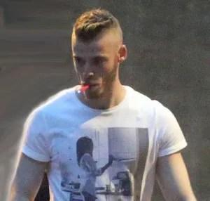 David de Gea using ecigarette -ecig news