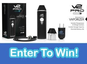 Win a V2 PRO Series 7 Vaporizer