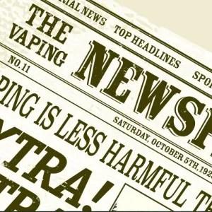 vaping less harmful headline