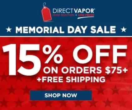 Direct vapor sale