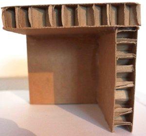Ecken- und Kantenschutz aus wabenplatten