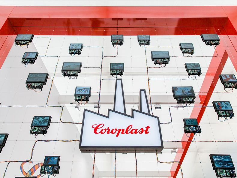 Coroplast-Kabel in einer Installation, Foto: Coroplast-Website, Link zur Quelle https://www.coroplast.de/detail/digitale-transformation-bei-coroplast/