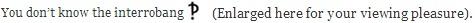 interro 1st sentence