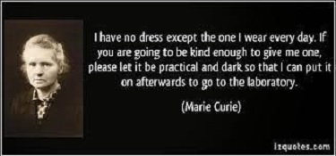 Curie quote