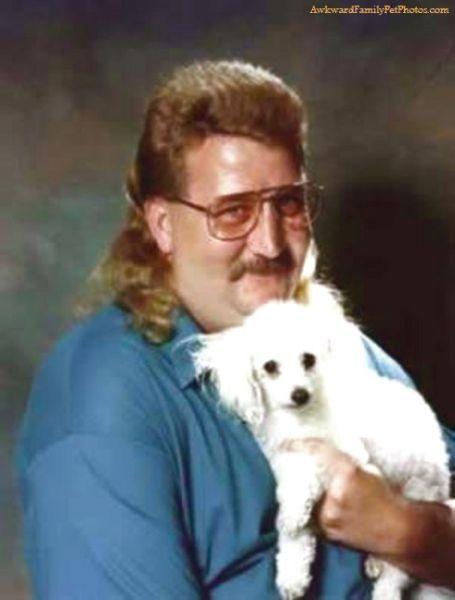 Happy Poodle Man