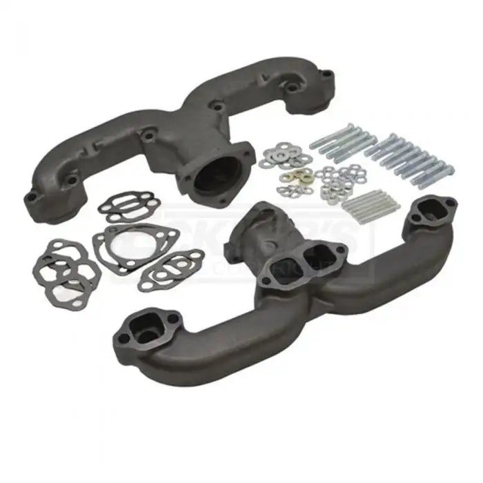 chevy small block rams horn exhaust manifolds 2 5 1955 1957
