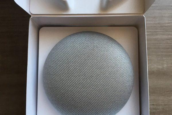 Google Home mini unboxing5-min