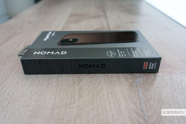 Nomad Rugged Case Brown unboxing-12-min
