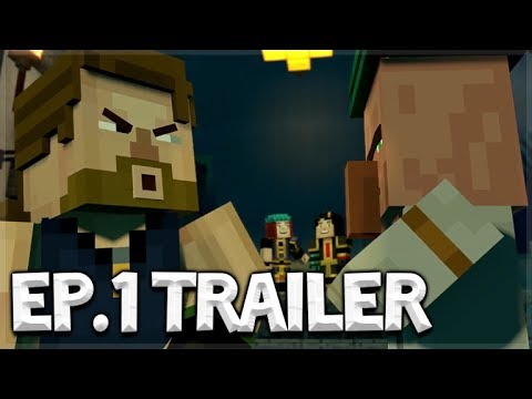 Minecraft Story Mode SEASON 2 NEW OFFICIAL TRAILER