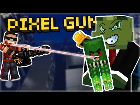 YOU SHOULD ONLY BUY THIS WEAPON IF YOU ARE SKILLED LITTLE CTHULHU Pixel Gun 3D EckoxSolider
