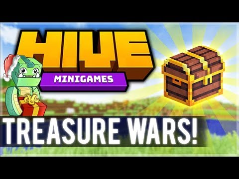 DESTROYING EVERYONE 18 MCPE HIVE SERVER Treasure Wars