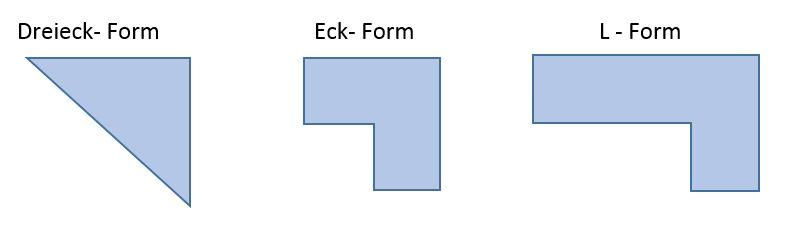 3 Ecke Form
