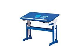 Links 40100600 Kinderschreibtisch Schülerschreibtisch Schreibtisch Kind blau verstellbar NEU -