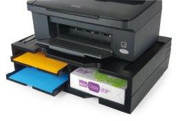 Exponent 42807 Printer Organizer Druckerstaender, schwarz -