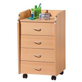 Links 50300100 PRONTO Rollcontainer Buche 40x36x65 cm -