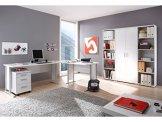 Arbeitszimmer Office Line 7-tlg in weiß -