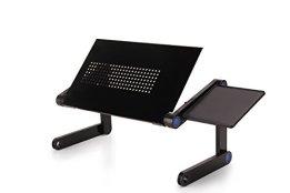 Laptoptisch Laptoptablett Bettish Notebooktisch Notebookständer Laptopständer mit Luftrillen für die Laptopkühlung -