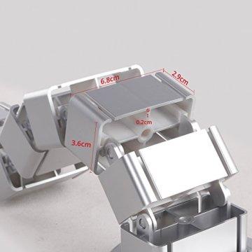 FLEXISPOT Kabelkanal Kabelschlauch 128 cm für flexibles Kabelmanagement an Computer und Arbeitsplatz - 4