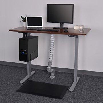 FLEXISPOT Kabelkanal Kabelschlauch 128 cm für flexibles Kabelmanagement an Computer und Arbeitsplatz - 6