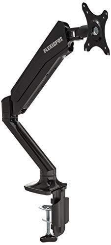 Flexispot Schreibtisch Monitor Halterung, Gas Spring Single LCD Arm für 25,4cm–68,6cm flach Bildschirm (F6A) - 1