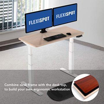 Flexispot Stabile Tischplatte 2,5 cm stark - DIY Schreibtischplatte Bürotischplatte Spanholzplatte - 2
