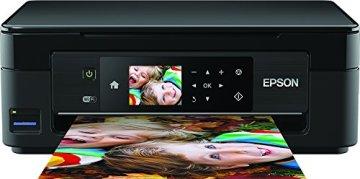 Epson C11CF30403 Expression Home XP-442 3-in-1 Tintenstrahl-Multifunktionsgerät (Drucker, Scanner, Kopierer, WiFi, Duplex, Einzelpatronen) schwarz - 1