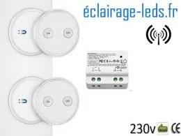 Kit Interrupteur sans fil RF avec 2 émetteurs