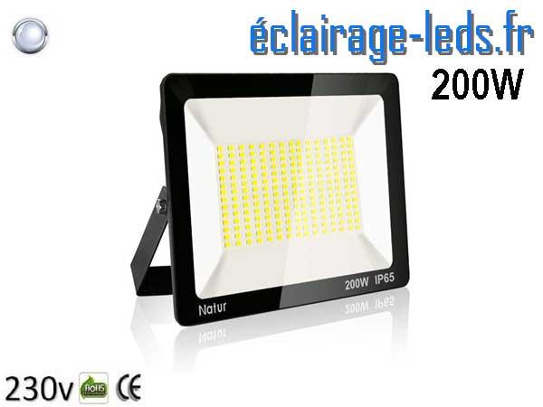 Projecteur LED extérieur 200W