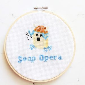 Soap Opera Cross Stitch Pattern