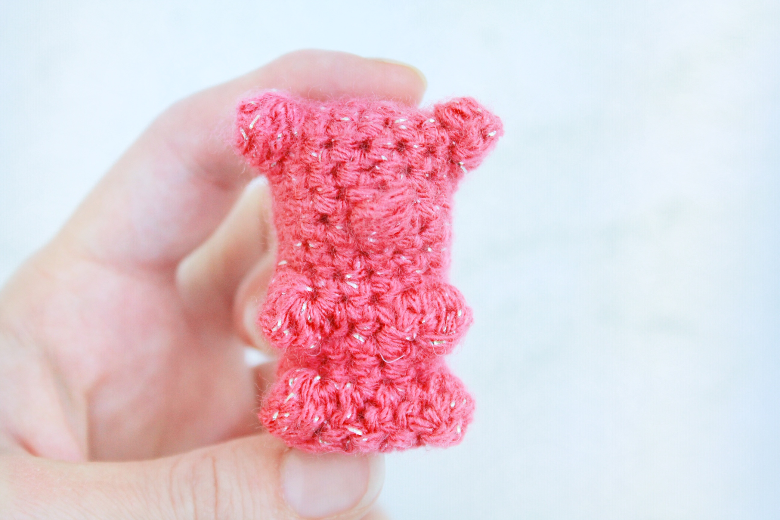 b64017307 31 Days of Candy Day 20: Gummy Bear Free Crochet Pattern | E'Claire ...