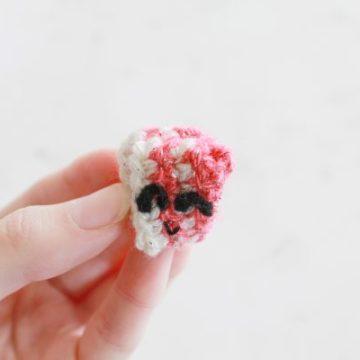 Ribbon Candy Free Crochet Pattern: 31 Days of Candy Day 22