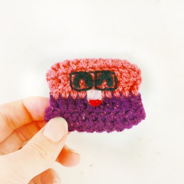 Nerdy Box Free Crochet Pattern: 31 Days of Candy Day 29 by E'Claire Makery